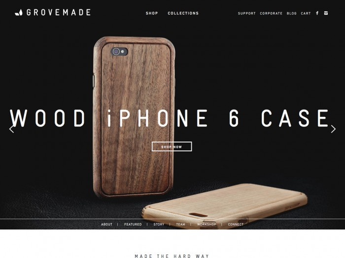 grovemade - home page