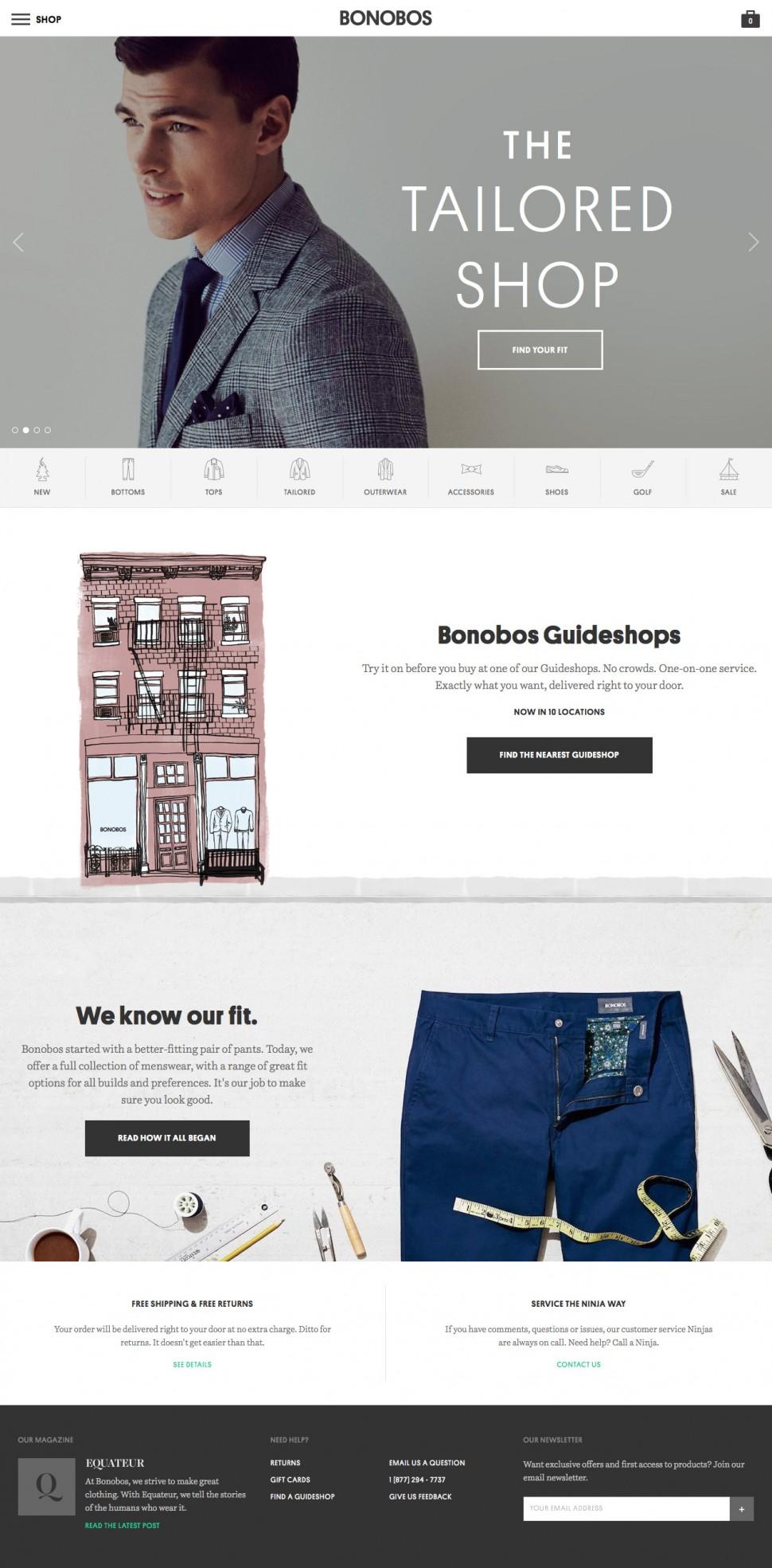 bonobos - home page