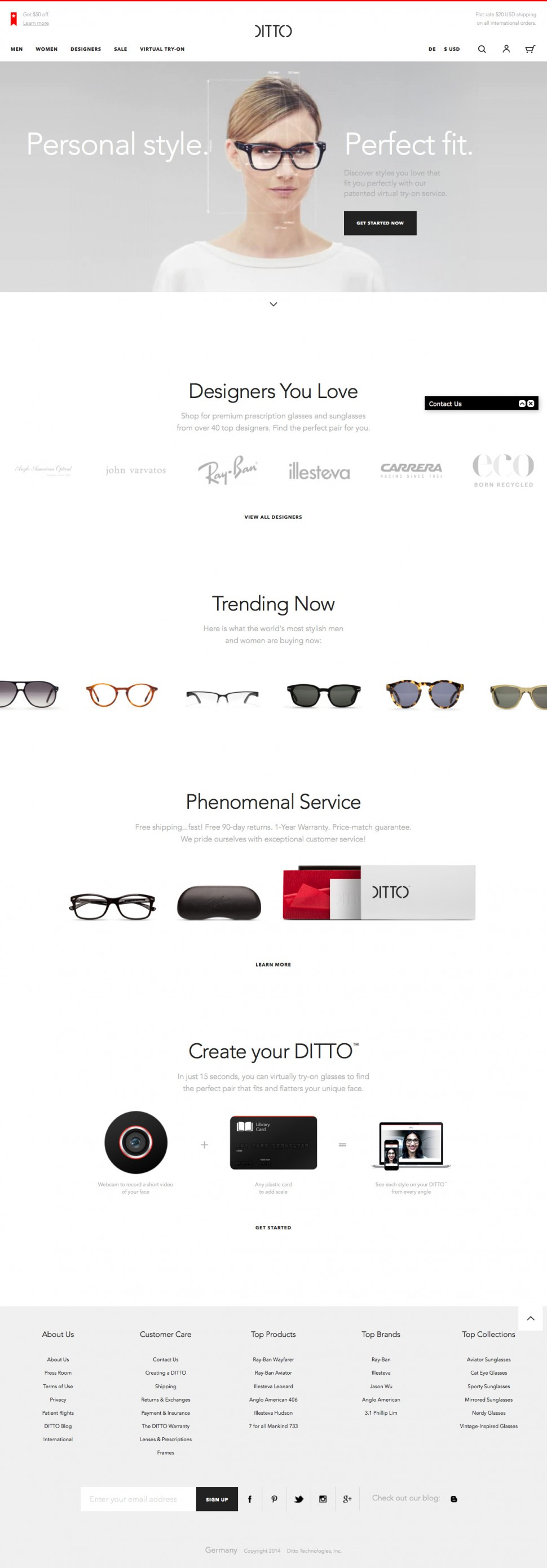 ditto - home page