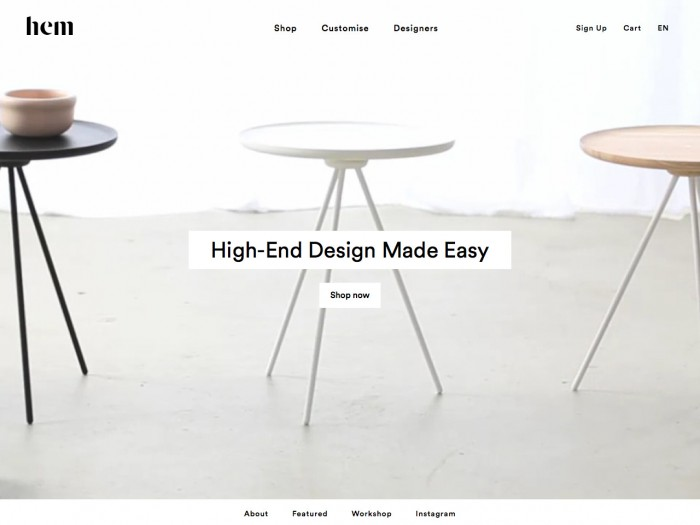 hem - home page