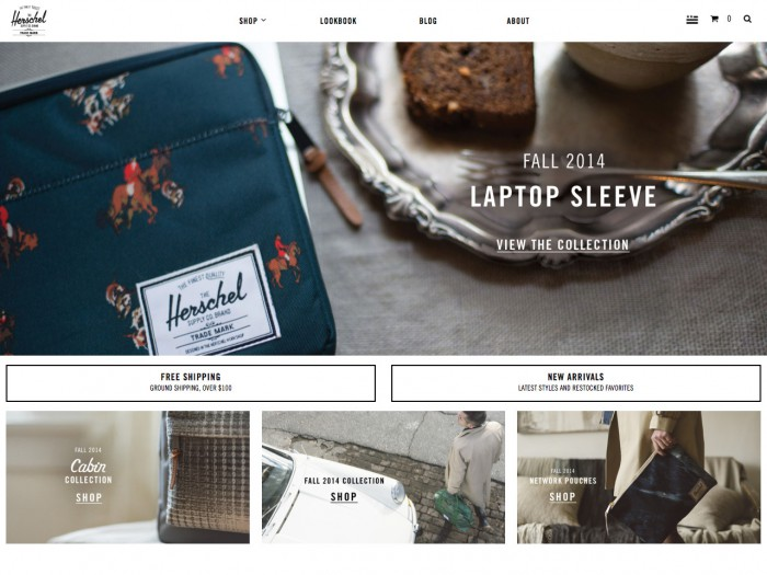 herschel supply - home page