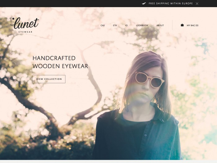 lunet eyewear - home page