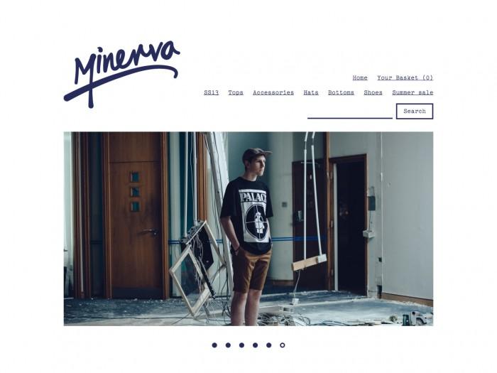 minerva - home page