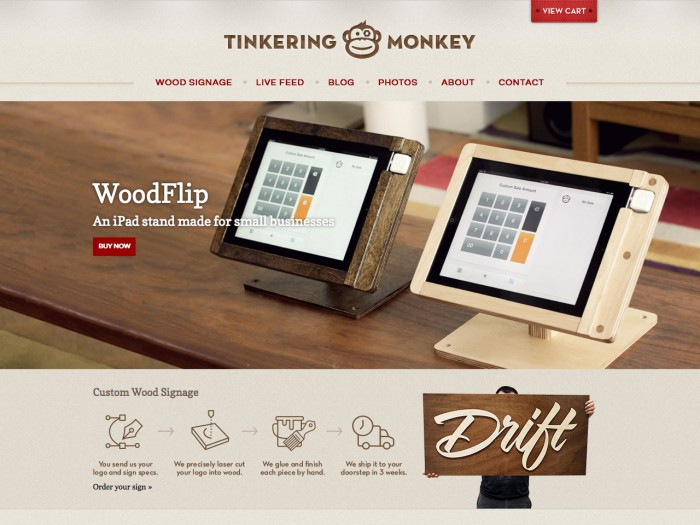 tinkering monkey - home page