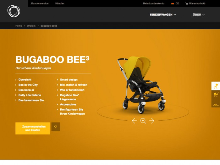 bugaboo - product page
