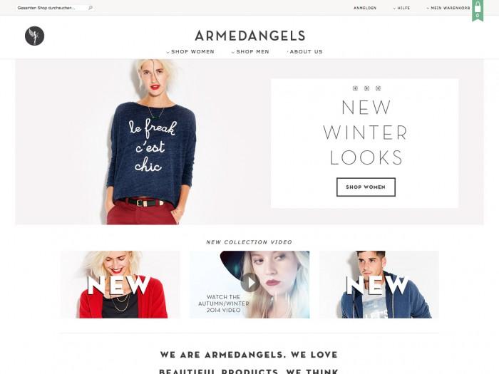 armedangels - home page