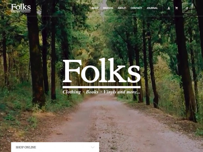 folks - home page