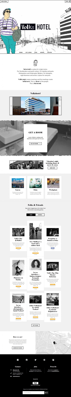 volkshotel - home page
