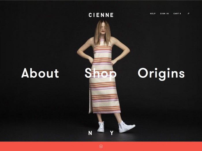 cienne - home page